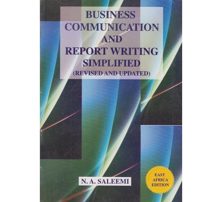 business communication and report writing book pdf