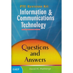 PTE Revision Kit Information & Communications Technology: Questions and answers