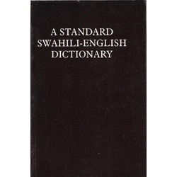 Standard Swahili-English Dictionary