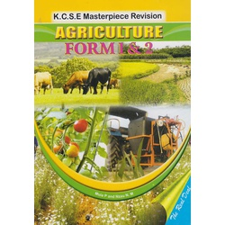 KCSE Masterpiece Revision Agriculture Form 3 & 4
