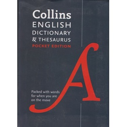 Collins English Dictionary & Thesaurus Pocket