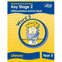 Key Stage 2 Differentiated Activity Book Word 5 Literacy Year 5