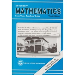 Secondary Maths Form 3 Teachers' guide KLB
