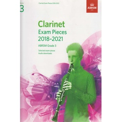 Clarinet Exam Pieces 2018-2021 ABRSM grade 3