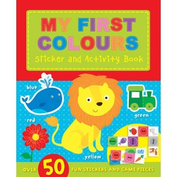 My First Colours Sticker and Activity Bk (Igloo)