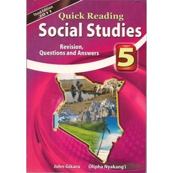 Quick Reading Social Studies 5