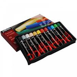 Pebeo oil pastels 12s assorted 275000