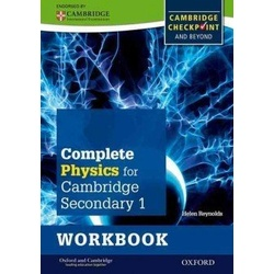 Complete Physics Cambridge for Secondary 1 Workbook