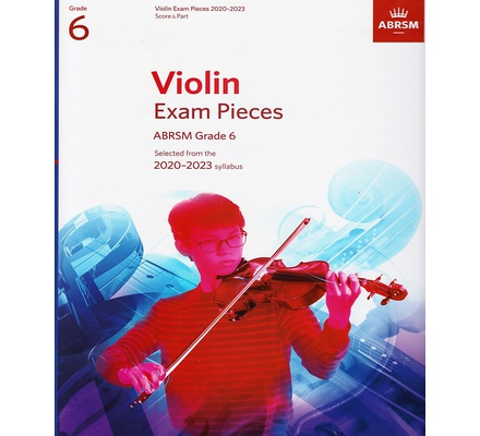 Violin Exam Pieces Grade 6 2020-2023