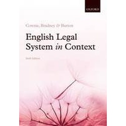 English Legal System in Context 6ED