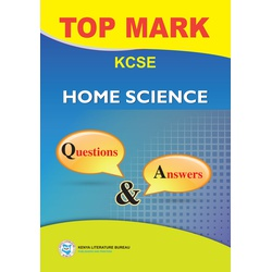 Topmark KCSE Home Science Questions & Answer