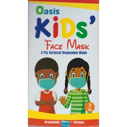 Oasis Kids Face Mask Pack of 7