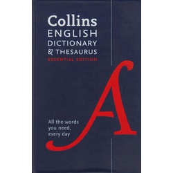 Collins English Dictionary & Thesaurus: Essential Edition
