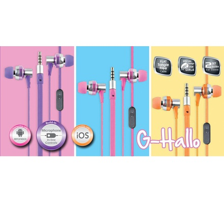 Cliptec G-Hallo in-Earphone with Mic BME757