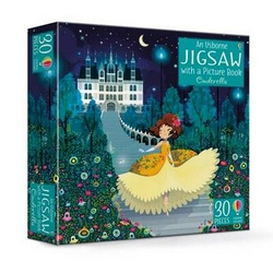 Usborne Jigsaw with a Picture book Cinderella