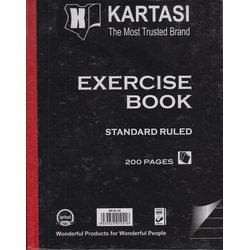 Exercise books 200pages Kartasi Brand HardCover