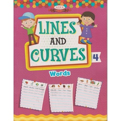 Alka Lines and Curves Pattern writing 4 (Words)