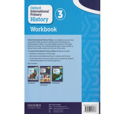 Oxford International Primary History Workbook Oxford Grade 3