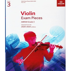 Violin Exam Pieces Grade 3 2020-2023