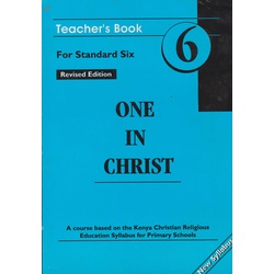 One in Christ Std 6 Trs Revised