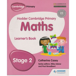 Hodder Cambridge Primary Mathematics Learner's book stage 2