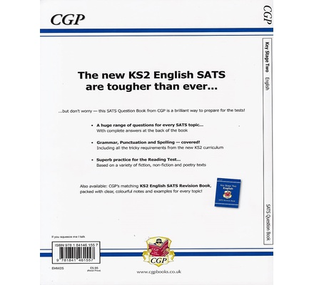 KS2 English SAT the Question Book