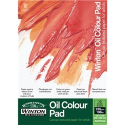 Winton Oil Colour Pad 12*9 6530570