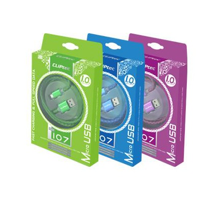 Cliptec Jacket usb 2.0 Micro Cable Cl-Cab-Occ107
