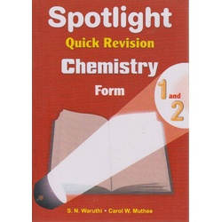 Spotlight quick revision chemistry form 1 and 2