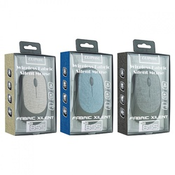 Cliptec Wireless Fabric Silent Mouse-RZS 855 Assorted