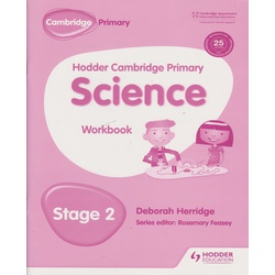Hodder Cambridge Primary Science Workbook 2