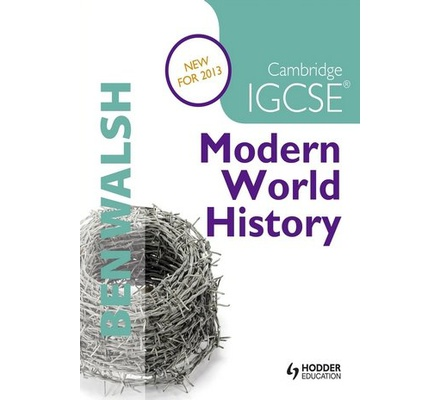 cambridge igcse history coursework Abebookscom: cambridge igcse modern world history (history in focus) (9781444164428) by ben walsh michael scott-baumann and a great selection of similar new, used and collectible books available now at great prices.