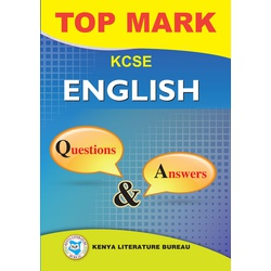 Topmark KCSE English Questions & Answers