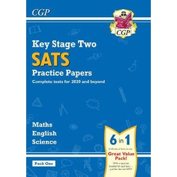 KS2 Complete SATS Practice Papers Pack: Science, Maths & English (for the 2021 tests) - Pack 1
