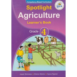 Spotlight Agriculture Learner's Book Grade 4 (Approved)