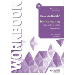 Cambridge Mathematics Core and Extended Work book 4th Edition (Hodder)