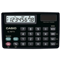 SL-787TV-GD-W Casio calculator