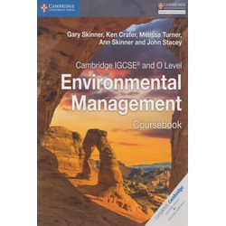 Cambridge IGCSE and O Level Environmental Management Coursebook