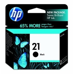 Hp Ink Cartidge Black 21