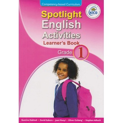 Spotlight English Activities Learner's book Grade 1