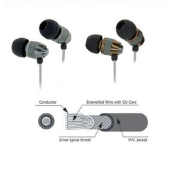 Cliptec Earphone CL-HST-BME717 Assorted