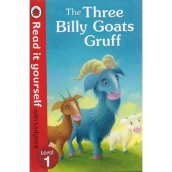 Three Billy Goats Gruff: Lady bird read it for yourself Level 1