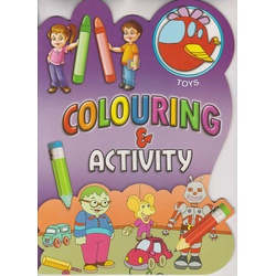 Alka Colouring & Activity (8x8) Assorted