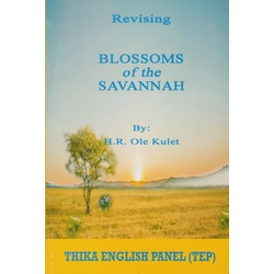 Revising Blossoms of the Savannah (TEP)