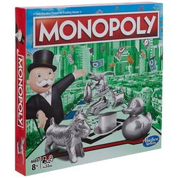 Hasbro Gaming Monopoly Classic (English) C1009
