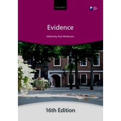 Evidence 16th Edition