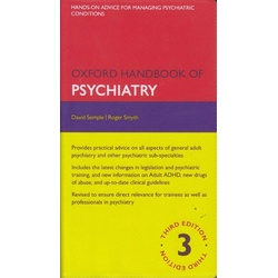 Oxford Handbook of Psychiatry 3rd Edition