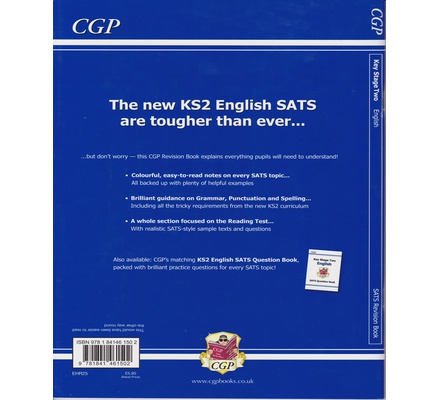 KS2 English SAT Revision book