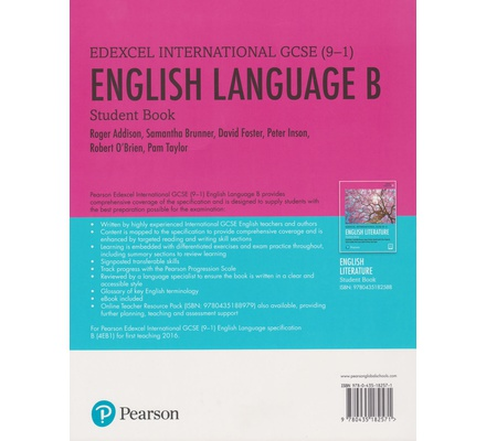 Edexcel International GCSE (9-1) English Language B Student Book