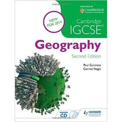 Cambridge IGCSE Geography 2nd Edition.